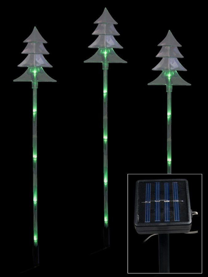 tree solar stake light 66cm christmas lights the christmas. Black Bedroom Furniture Sets. Home Design Ideas