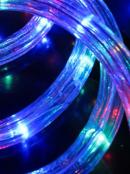 Multi Colour LED Christmas Rope Light - 10m