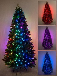 76b6e9d9f452 Multi Colour   Function Dancing Light Fibre Optic Tree - 1.3m. The Christmas  Warehouse
