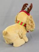 Jingle Bells Puppy Musical Animation - 20cm