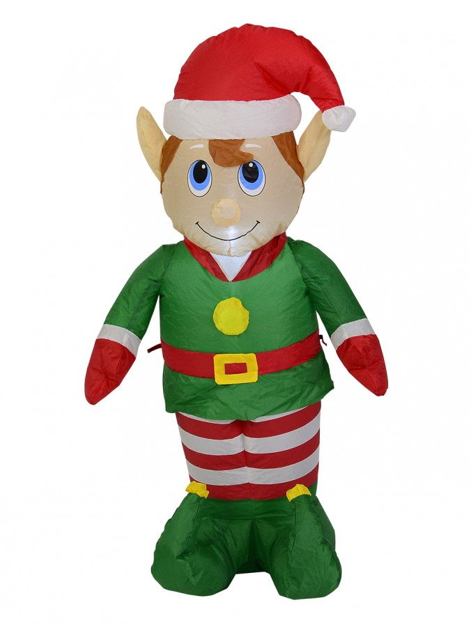 Elf Standing - Inflatable & Illuminated 1.2m