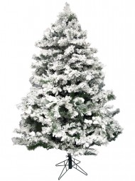 flocked antarctic pine christmas tree 183m - Snow Christmas Tree