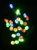 350 MULTI COLOUR OUTDOOR TREE LIGHTS WITH USB CONNECTOR - 13.75M