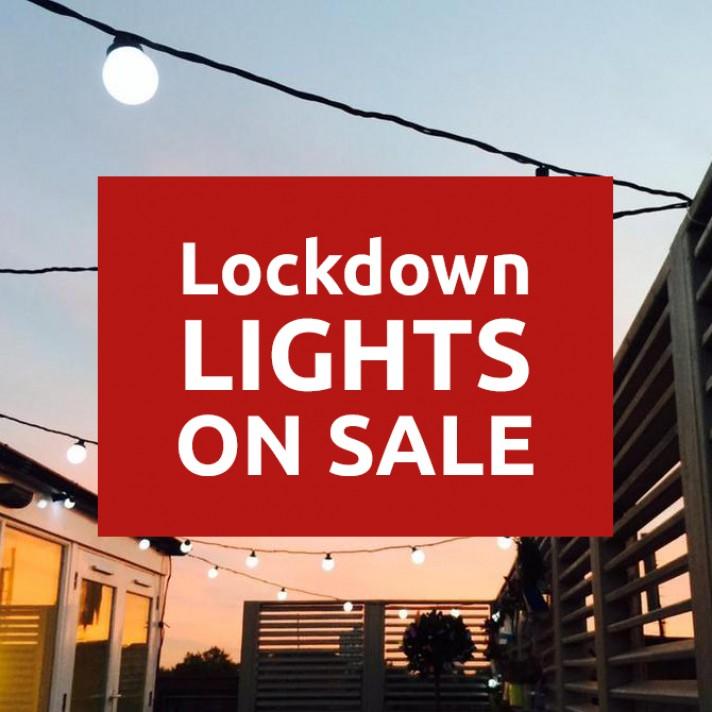 Lock down lights on sale