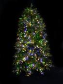 Magic Night Pre-lit Christmas Tree With Dual 1752 LED Lights & 1624 Tips - 2.3m