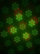 Red & Green Laser Light with Christmas & Halloween Patterns