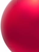 Red Metallic Large Bauble Display Decoration - 20cm