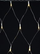 80 Warm White LED Star Icicle Net Light - up to 1.6m