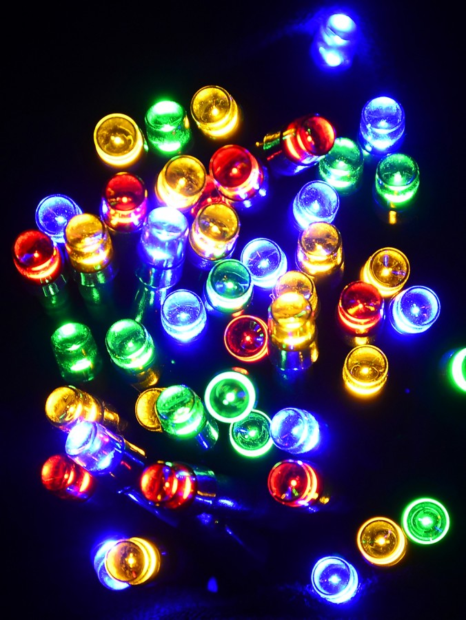 1000 Multicolour Multi Function LED Lights with Bluetooth Control - 54m