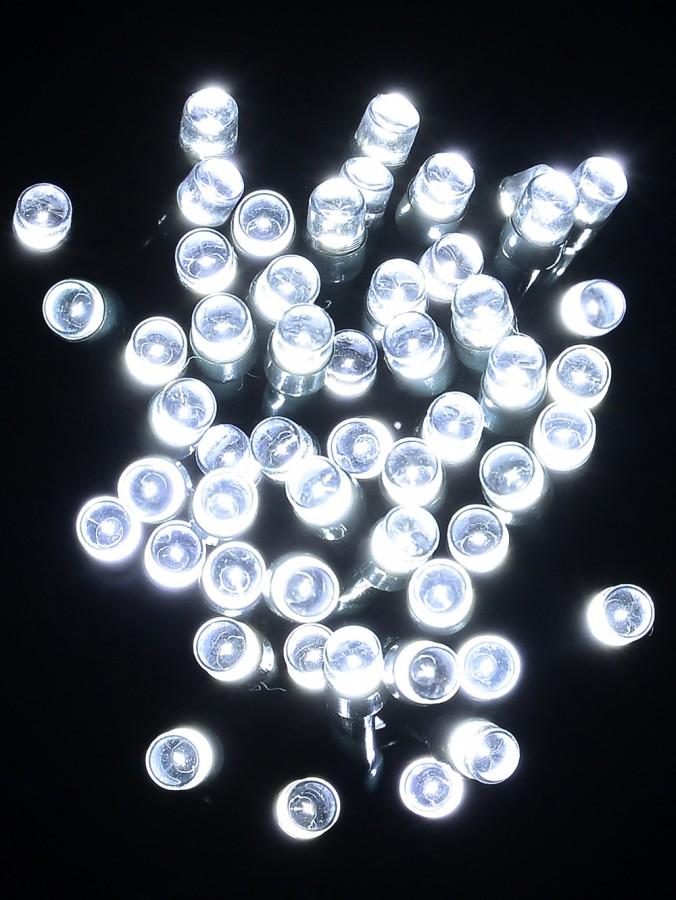 500 Cool White LED String Lights - 25m