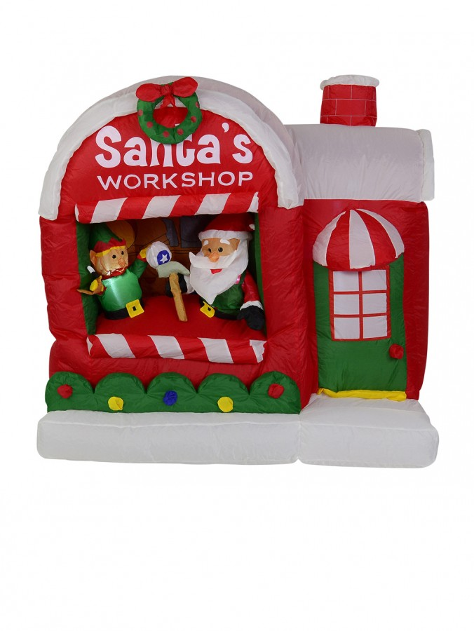 Santas Workshop - Inflatable & Illuminated 1.45m