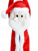 Cute & Cuddly Hanging Santa Christmas Plush Toy - 19cm