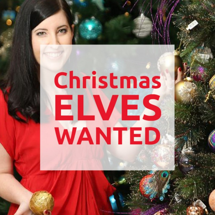 Christmas Elves Wanted