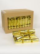 Shiny Gold Fluer De Lis Pattern On Gold Bon Bons - 28cm x 50 Pack