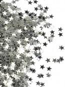 Shiny Silver Star Shape Decorative Christmas Confetti - 40g