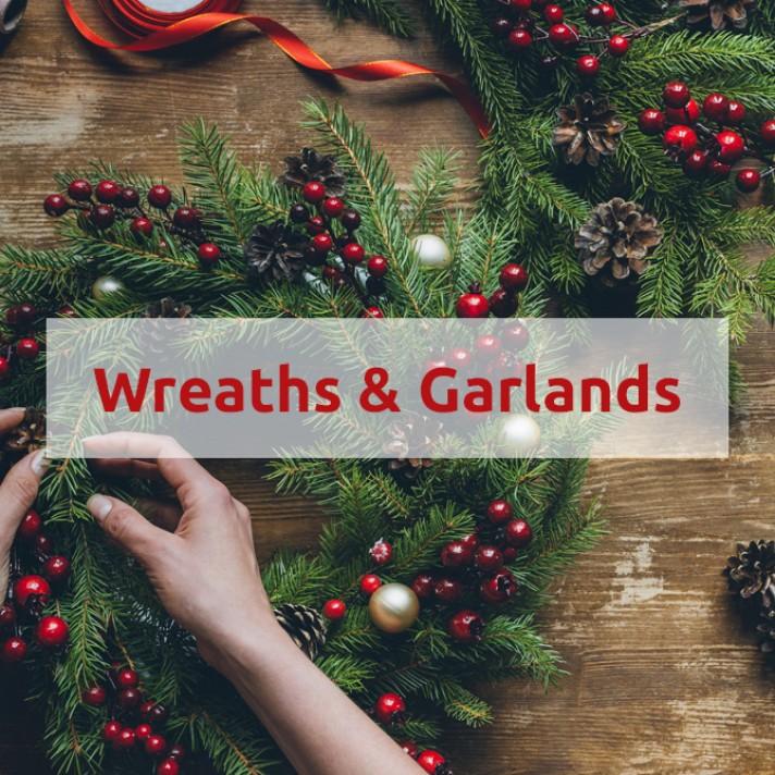 Shop Christmas Wreaths & Garlands