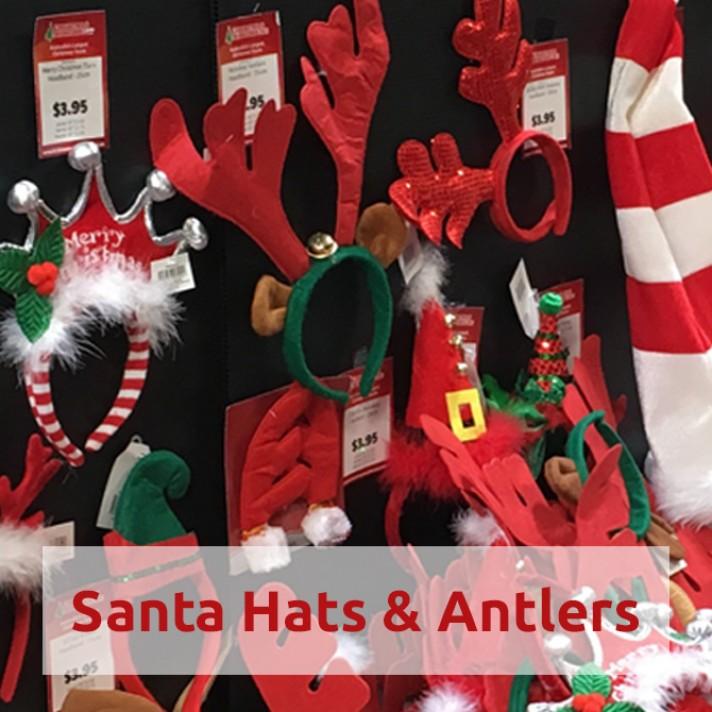 Shop Santa Hats & Antlers Online