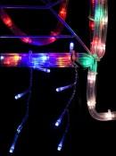 Merry Christmas Sydney Harbour Bridge Rope Light Silhouette - 95cm