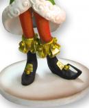 Gorgeous Life Size Santa's Little Helper Christmas Elf Girl Resin Decor - 1.2m