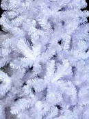 Winter White Pine Christmas Tree With 591 Tips - 1.8m