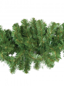 Thin Tip Balsam Pine Christmas Swag Garland With 150 Tips - 2.1m