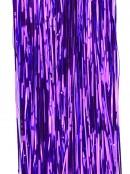 Metallic Purple Christmas Tinsel Lametta Icicles - 300 strands