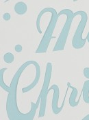 Merry Christmas Reusable Spray Snow Stencil Christmas Decoration - 50cm