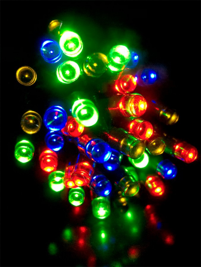 1000 Multi Colour LED String Light - 50m