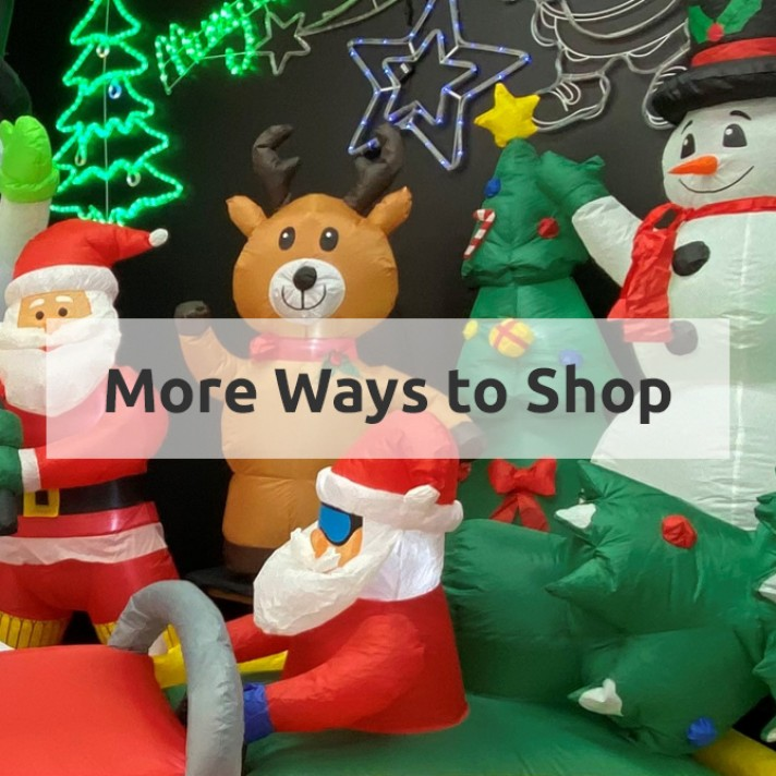 More Ways to Shop at Christmas Warehouse