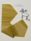 Gold, Cream & Red Noel & Joy Luxury Christmas Cracker Bon Bons - 10 x 36cm
