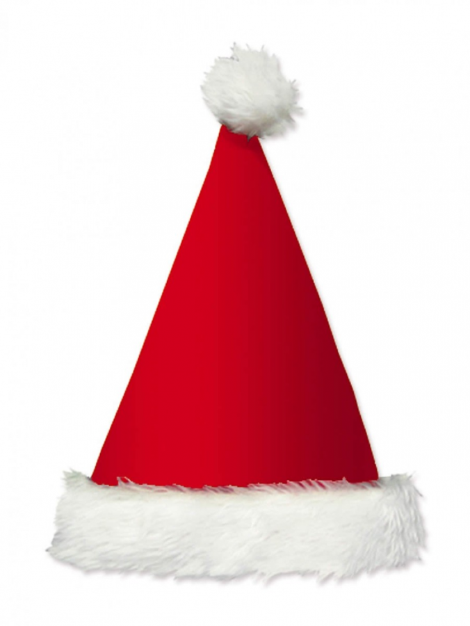 Plush Traditional Santa Hat - 40cm