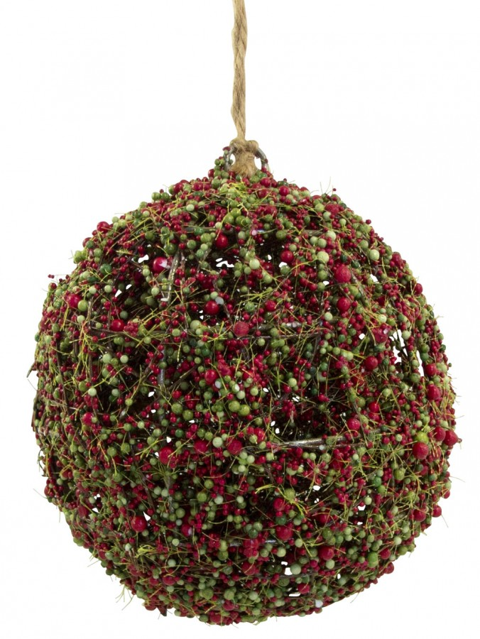 The Moss Vale Hanging Ball Decoration - 14cm
