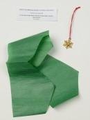 Gold & Cream Winter Patterns Christmas Cracker Bon Bons - 12 x 25cm