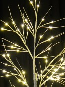 Neutral White LED Twig Branch 3D Christmas Birch Tree - 1.8m