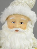 Gorgeous Waving Santa Ceramic Ornament - 24cm