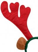 Novelty Reindeer Antlers With Ears Christmas Headband - 32cm