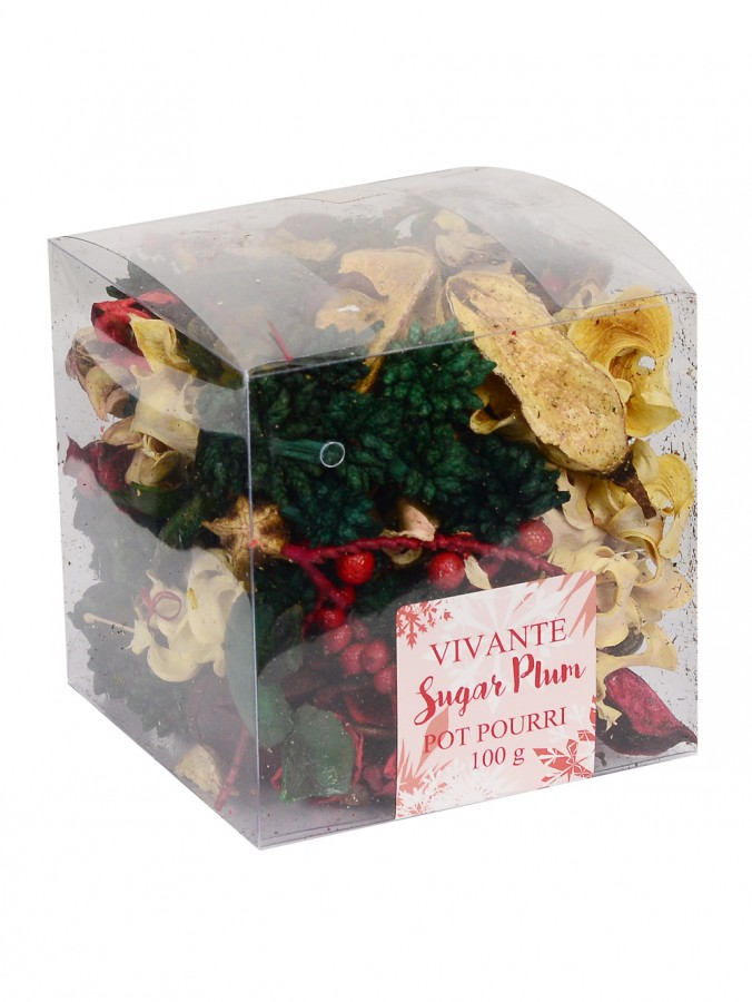 Vivante Sugar Plum Pot Pourri - 100g