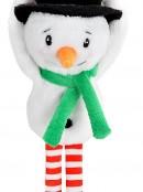 Cute & Cuddly Hanging Winter Snowman Christmas Plush Toy - 19cm