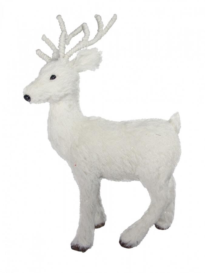 Medium Winter Standing Reindeer Ornament - 50cm