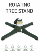 Rotating Christmas Tree Stand - Suit Trees Up To 2.4m