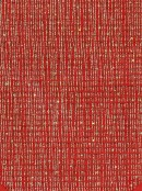 Red Christmas Table Runner With Thin Gold Line Design & Red Tassel - 1.4m