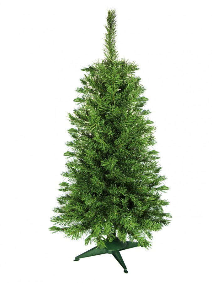 Valley Pine Traditional Christmas Tree With 154 Tips - 1.2m