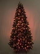 Multi Colour & Function Dancing Light Fibre Optic Tree - 1.3m