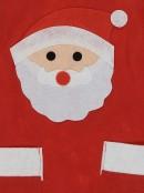 Felt Santa Head Christmas Chef BBQ Christmas Apron - 1 size fits most