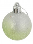 Graduated Lime, Turquoise, Pink & Gold With White Baubles - 12 x 40mm