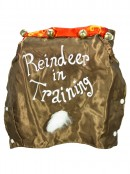 Reindeer In Training Satin Pet Suit - Fit most small dogs