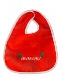 Babies Merry Christmas Santa Hat & Ho Ho Ho Bib - 2 peice set