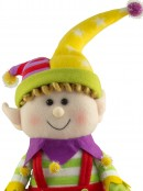 Plush Sitting Super Cute Elf Girl - 46cm
